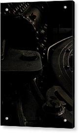 Old Train Acrylic Print by Gary Marx