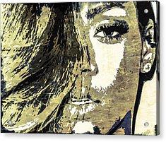 Rihanna Acrylic Print