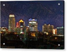 Salt Lake City Utah Acrylic Print by Utah Images