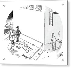 New Yorker December 20th, 2004 Acrylic Print by Glen Le Lievre