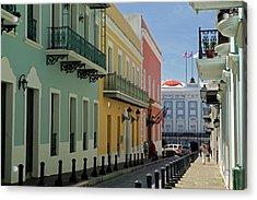 Usa, Puerto Rico, San Juan Acrylic Print by Kymri Wilt