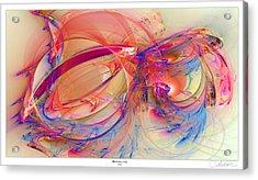 1273 Border Acrylic Print