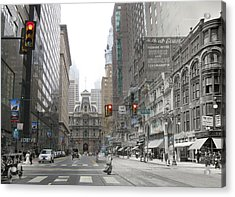 12th And Market Street Acrylic Print
