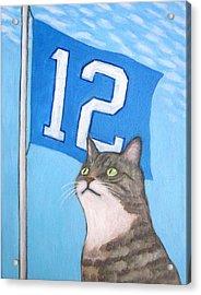 12th Cat #1 Acrylic Print