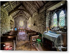 12th Century Chapel Acrylic Print by Adrian Evans
