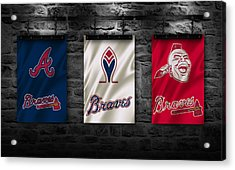 Atlanta Braves Acrylic Print by Joe Hamilton
