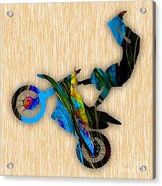 Dirt Bike Acrylic Print