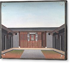 Honam Temple Acrylic Print by British Library