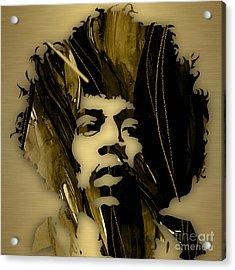 Jimi Hendrix Collection Acrylic Print