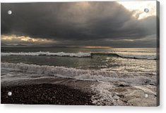 Kinard Beach Acrylic Print by Barbara Walsh