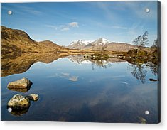 Lochan Na H-achlaise Acrylic Print by Stephen Taylor