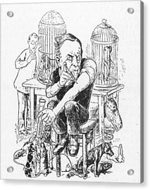 Louis Pasteur (1822-1895) Acrylic Print by Granger