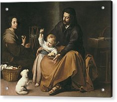 Murillo, Bartolom� Esteban 1617-1682 Acrylic Print by Everett