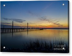Acrylic Print featuring the photograph Peacefull Hues Of Orange And Yellow  by Dale Powell