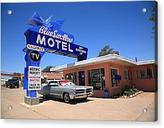 Route 66 - Blue Swallow Motel Acrylic Print