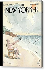 New Yorker August 30th, 2010 Acrylic Print