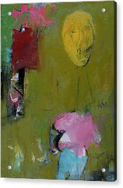 Acrylic Print featuring the painting Untitled by Fred Smilde