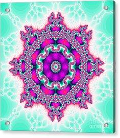 The Kaleidoscope Acrylic Print by Odon Czintos