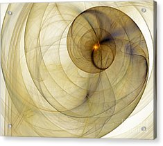 Colorful Abstract Forms Acrylic Print by Odon Czintos