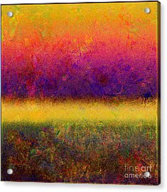 1395 Abstract Thought Acrylic Print by Chowdary V Arikatla