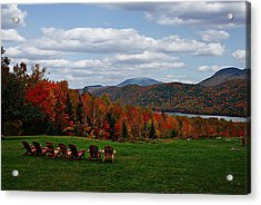 13th Lake View Garnet Hill Lodge Acrylic Print