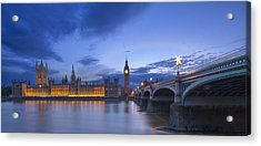 Big Ben And The Houses Of Parliament  Acrylic Print