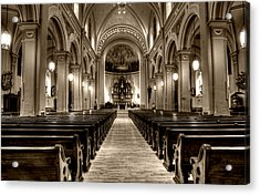 Church Of The Assumption Acrylic Print
