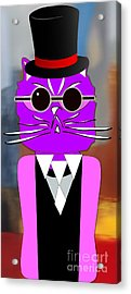 Cool Cat Acrylic Print by Marvin Blaine