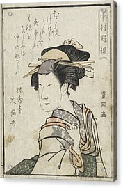 Kabuki Actor Acrylic Print by British Library