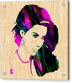 Kim Kardashian Collection Acrylic Print