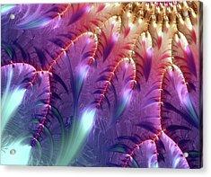 Mandelbrot Fractal Acrylic Print by Alfred Pasieka