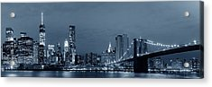 Manhattan Downtown Acrylic Print