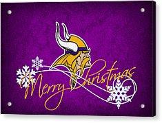 Minnesota Vikings Acrylic Print by Joe Hamilton