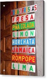 North America, Mexico, Guanajuato Acrylic Print