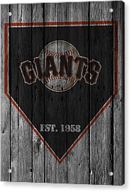 San Francisco Giants Acrylic Print by Joe Hamilton