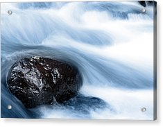 Stream Acrylic Print by Les Cunliffe