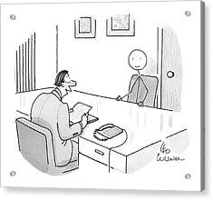 New Yorker May 19th, 2008 Acrylic Print