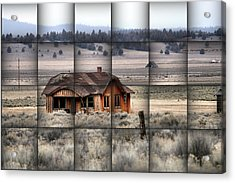 140 Homestead Weave Acrylic Print by Ray Finch