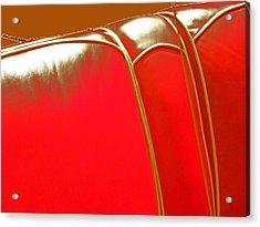 142-2 'jordon Leather' Acrylic Print by Gregory Otvos
