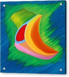 142 'deco Light' Acrylic Print by Gregory Otvos
