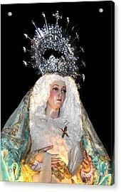 143 Semana Santa In Olvera Acrylic Print by Patrick King