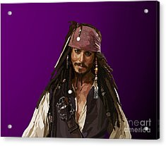 148 - The Legend Acrylic Print by Tam