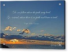149- Ralph Waldo Emerson Acrylic Print by Joseph Keane