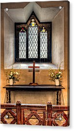 14th Century Chapel Acrylic Print by Adrian Evans