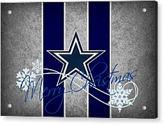 Dallas Cowboys Acrylic Print by Joe Hamilton