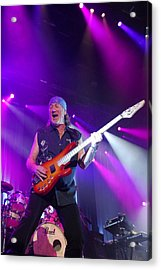 Deep Purple Acrylic Print