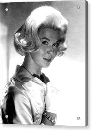 Doris Day Acrylic Print by Silver Screen