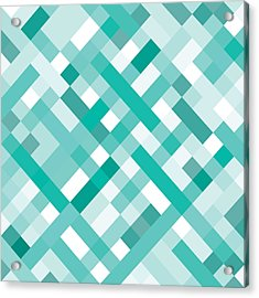 Acrylic Print featuring the digital art Geometric by Mike Taylor