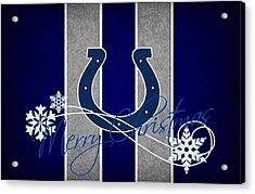 Indianapolis Colts Acrylic Print by Joe Hamilton