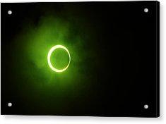 15 January 2010 Solar Eclipse Maldives Acrylic Print